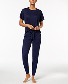 Ande Whisperluxe Oversized Pajama Top & Jogger Pants Sleep Separates