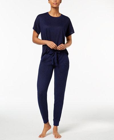 Ande Whisperluxe Oversized Pajama Top & Jogger Pants Sleep Separates