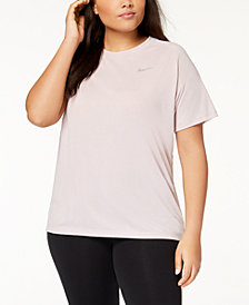Nike Plus Size Breathe Tailwind Running Top
