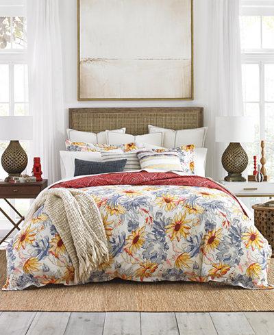 Tommy Hilfiger Stargrass Floral 3-Pc. King Comforter Set