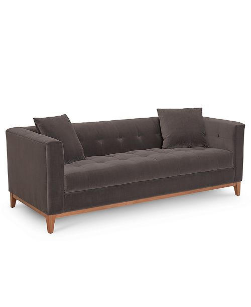 Furniture Closeout Martha Stewart Collection Brookline 85 Sofa