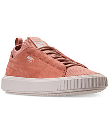 Puma Men's Breaker Knit Sunfaded Casual Sneakers from Finish Line