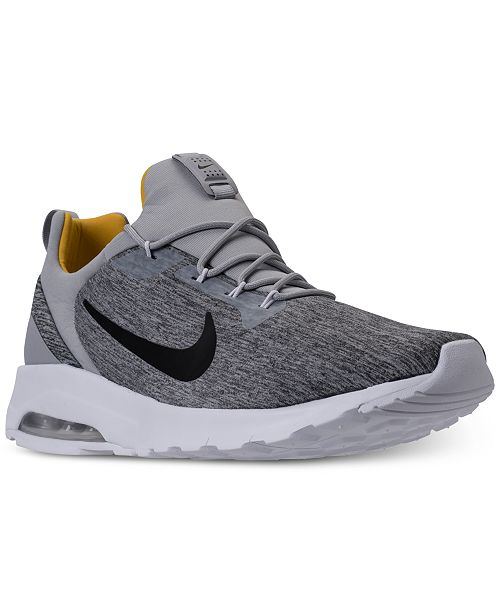 new products c3e15 028e6 ... Nike Men s Air Max Motion Racer Running Sneakers from Finish ...