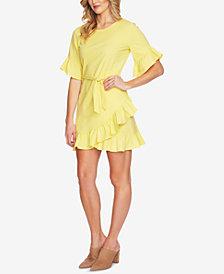 1.STATE Ruffled Mini Dress