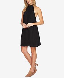 1.STATE Mock-Neck Shift Dress