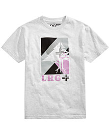 LRG Men's The Half Tree Logo T-Shirt