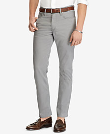Polo Ralph Lauren Men's Prospect Slim-Straight Sateen Pants