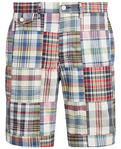Polo Ralph Lauren Men's Classic Fit Madras Shorts & Reviews