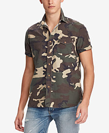 Polo Ralph Lauren Men's Classic Fit Camouflage Shirt
