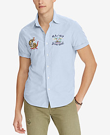 Polo Ralph Lauren Men's Classic Fit Souvenir Shirt