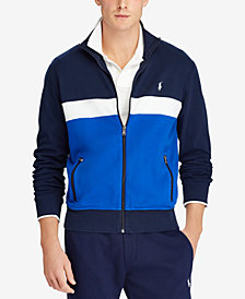 Polo Ralph Lauren Men's Big & Tall Interlock Track Jacket