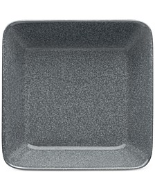 Teema Dotted Grey Square Plate