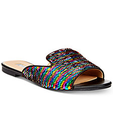 I.N.C. Women's Mayla Slip-On Flat Sandals, Created for Macy's