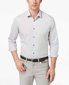 Men's STRETCH Modern Stripe Shirt, Created for Macy's