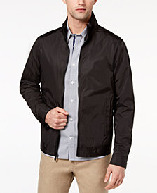Ryan Seacrest Distinction™ Men's Slim-Fit Black Full-Zip Jacket, Created for Macy's