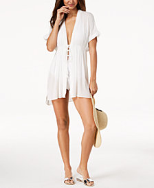 Lauren Ralph Lauren Tie-Front Cover-Up