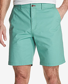 "Weatherproof Vintage Men's Stretch Textured-Stripe 9"" Shorts"