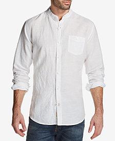 Weatherproof Vintage Men's Band-Collar Shirt