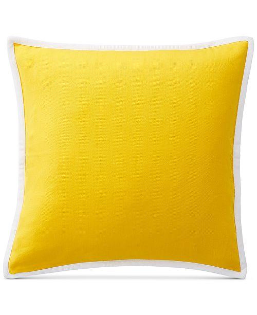 """Lauren Ralph Lauren Isadora 20"""" Square Decorative Pillow"""