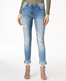 STS Blue Taylor Tomboy Cuffed Straight Leg Jeans
