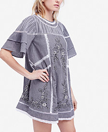 Free People Sunny Day Embroidered Shift Dress