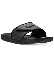 Men's Kawa Adjustable Slide Sandals from Finish Line