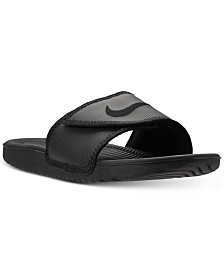 bf3ac172ff0aa Nike Men s Kawa Adjustable Slide Sandals from Finish Line