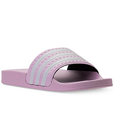 adidas Big Girls Adilette Slide Sandals from Finish Line