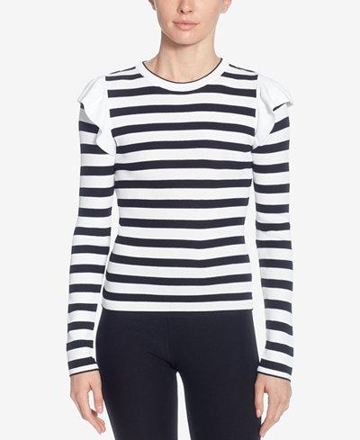 Catherine Catherine Malandrino Karina Striped Sweater