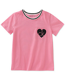 Calvin Klein Sporty Cotton T-Shirt, Big Girls