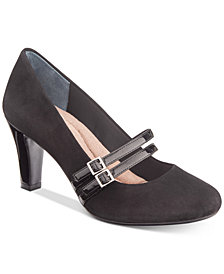 Giani Bernini Memory Foam Vallay Pumps, Created For Macy's