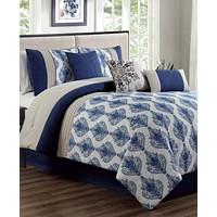 Deals on Hallmart Collectibles Gloria 7-Pc. Full Comforter Set