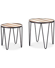 Kenley Tray Table (Set Of 2), Quick Ship