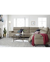 Power Reclining Sectional Sofas Couches Macys