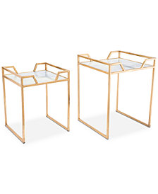 Kayne End Table (Set Of 2), Quick Ship
