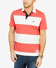 Nautica Men's Rugby Stripe Polo