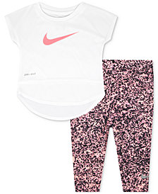 Nike 2-Pc. Dri-FIT Tunic & Leggings Set, Toddler Girls