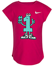 Nike Number One Graphic-Print Cotton T-Shirt, Toddler Girls
