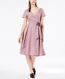 Weekend Max Mara Amaca Cotton Wrap Dress