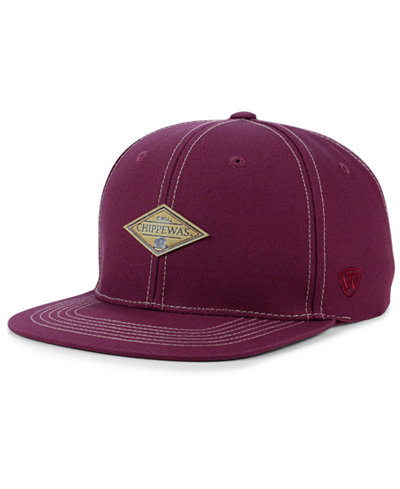 Top of the World Central Michigan Chippewas Diamonds Snapback Cap