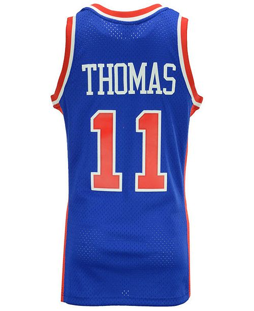 huge selection of 2ddc0 13ef0 Men's Isiah Thomas Detroit Pistons Hardwood Classic Swingman Jersey