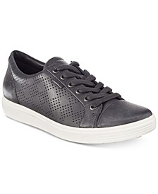 Women's Soft 7 Perforated Lace-Up Sneakers