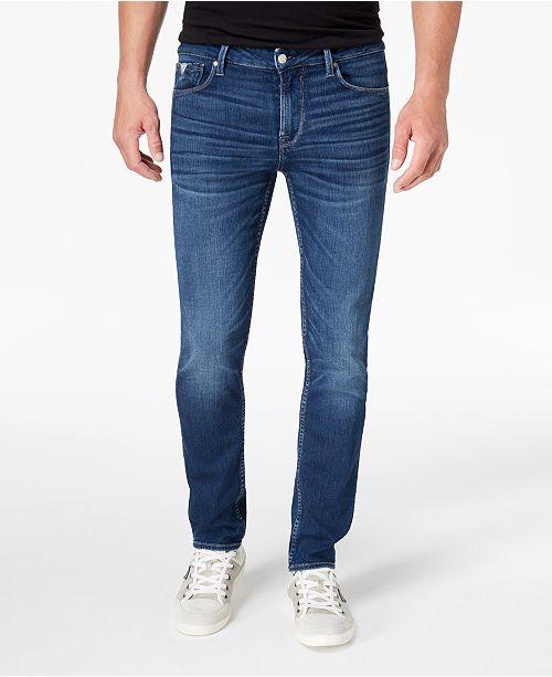 Stretch Jeans   Designer Guess Blau Stretch Jeans Herren