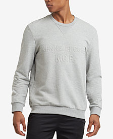 Kenneth Cole Reaction Men's Embossed-Logo Sweatshirt