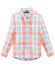Tommy Hilfiger Alejandro Plaid Shirt, Baby Boys