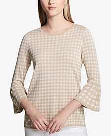 Calvin Klein 3/4-Sleeve Sweater