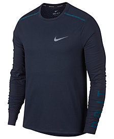 Nike Men's Breathe Rise 365 Running Long Sleeved Shirt