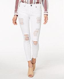 STS Blue Emma Raw-Hem Ripped Skinny Jeans