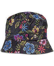 Totes Printed Bucket Rain Hat