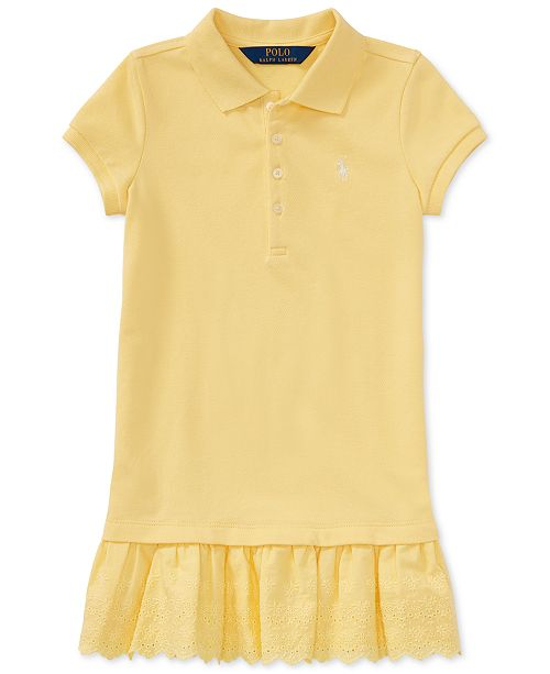 4949b58f5 ... Polo Ralph Lauren Ralph Lauren Pleated Polo Dress, Toddler Girls ...